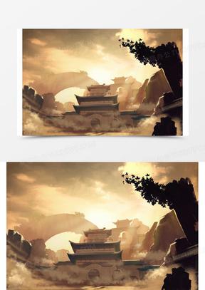两色拼接壁纸图片_宽屏素材_宽屏图片_宽屏免费模板下载_熊猫办公